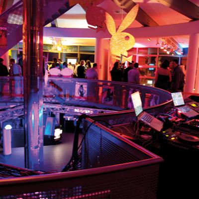 Playboy Party Syltquelle Event Technik Sylt